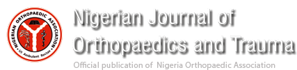 Nigerian Journal of Orthopaedics and Trauma
